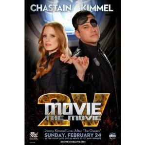 Movie the Movie starring Jessica Chastain, Jimmy Kimmel
