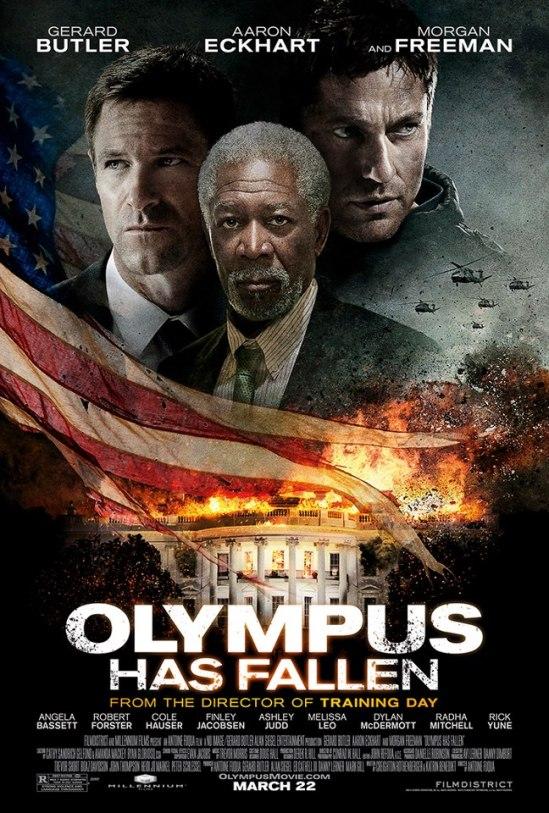 Olympus Has Fallen poster