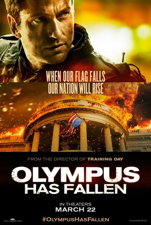 Olympus Has Fallen Poster - Gerard Butler
