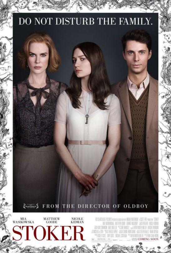 Stoker poster - Nicole Kidman, Mia Wasikowska, Matthew Goode