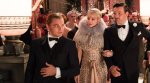 Leonardo DiCaprio as Jay Gatsby, Carey Mulligan as Daisy, Joel Edgerton as Tom Buchanan,The Great Gatsby