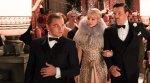 Leonardo DiCaprio as Jay Gatsby, Carey Mulligan as Daisy, Joel Edgerton as Tom Buchanan,The Great Gatsby