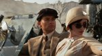 Tobey Maguire as Nick Carraway,  Elizabeth Debicki as Jordan Baker, The Great Gatsby