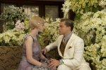 Carey Mulligan as Daisy, Leonardo DiCaprio as Jay Gatsby, The Great Gatsby