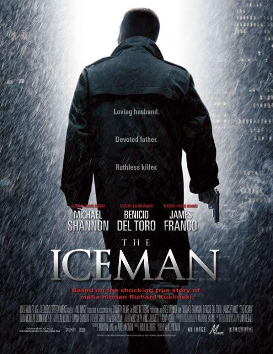 poster, The Iceman, Ariel Vromen, Michael Shannon