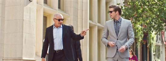 Harrison Ford, Liam Hemsworth, Paranoia