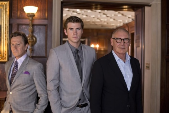 Gary Oldman, Liam Hemsworth, Harrison Ford, Paranoia