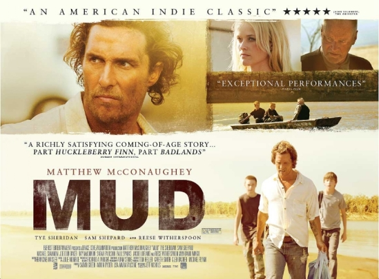 Mud, poster, movie, Matthew McConaughey