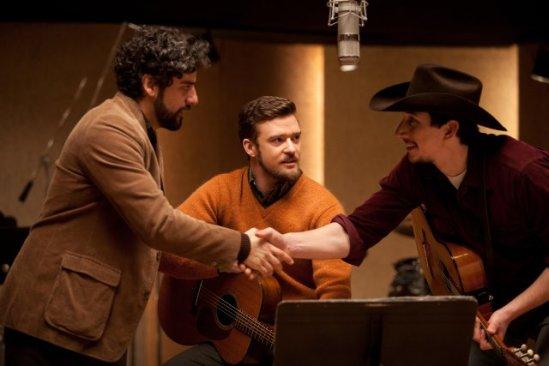 Oscar Isaac, Justin Timberlake, Garrett Hedlund, Inside Llewyn Davis movie