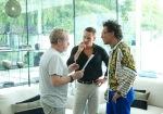 Ridley Scott, Michael Fassbender, Javier Bardem The Counsellor