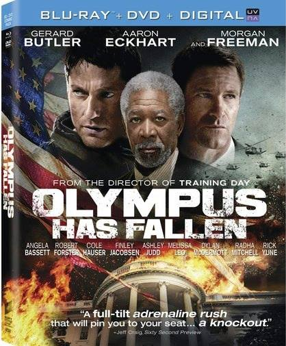 Olympus Has Fallen, movie, dvd, blu-ray, Gerard Butler
