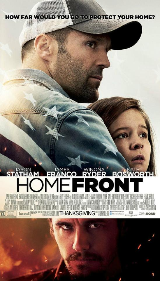 Homefront, Jason Statham, movie, poster