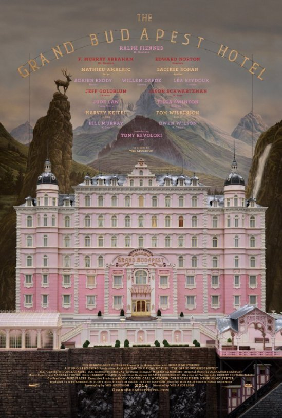 The Grand Budapest Hotel, movie, Poster