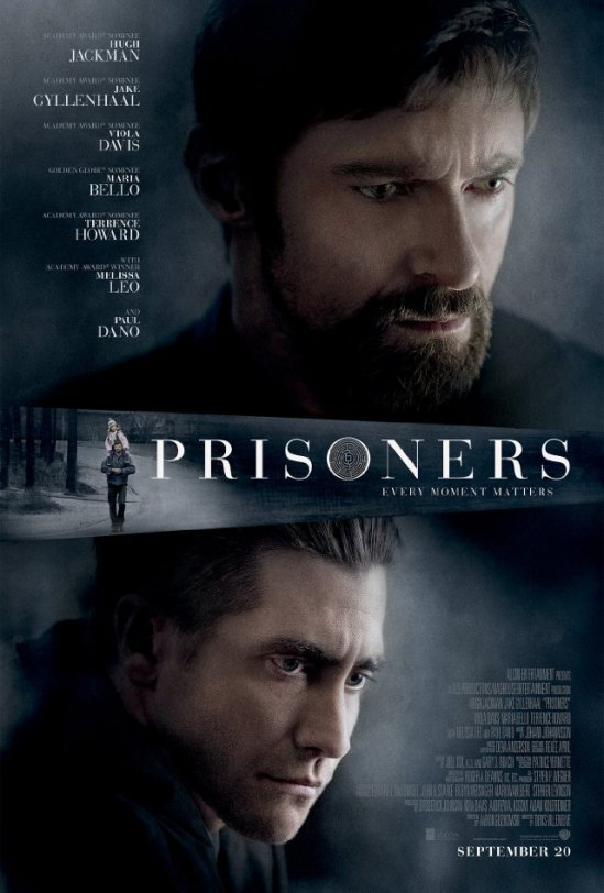 Prisoners, Hugh Jackman, Jake Gyllenhaal, poster, movie