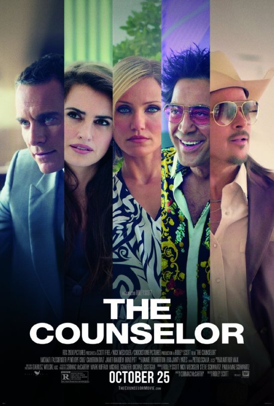 The Counselor, movie, poster, Michael Fassbender, Sir Ridley Scott
