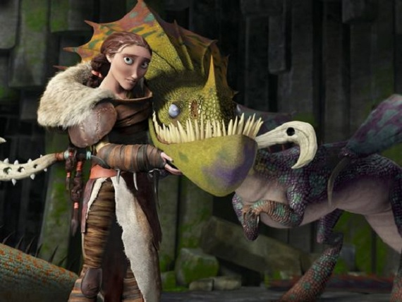 How to Train Your Dragon 2, movie, still, Cate Blanchett, sequel