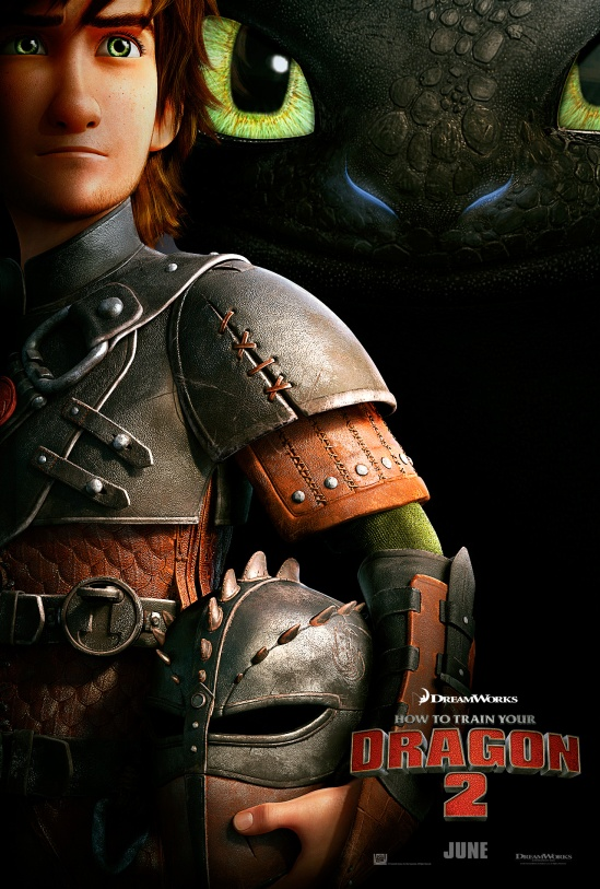 How to Train Your Dragon 2, poster, movie, sequel