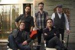 The Art of the Steal, still, movie, Kurt Russell, Matt Dillon, Jay Baruchel