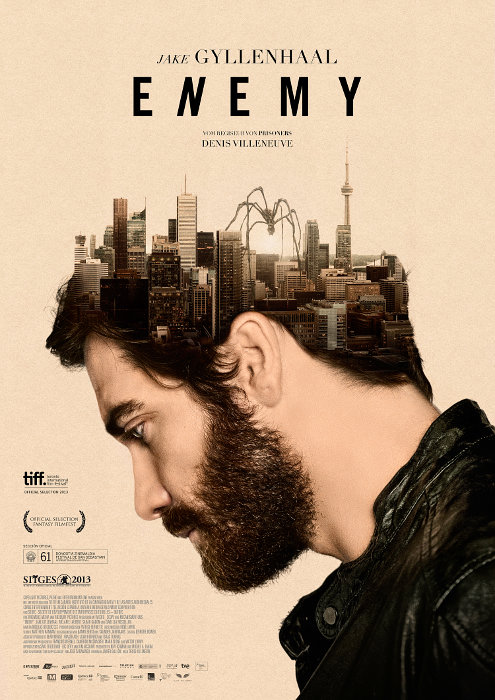 Enemy, movie, poster, Jake Gyllenhaal, Denis Villaneuve