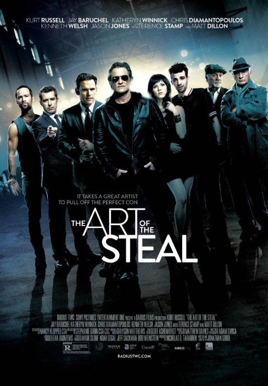 The Art of the Steal, poster, Kurt Russell, Terence Stamp, Jay Baruchel, Matt Dillon, movie
