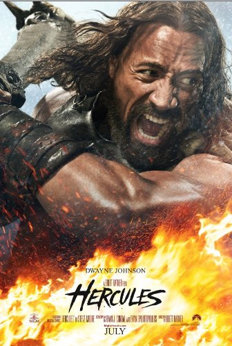 Hercules, Dwayne Johnson, movie poster