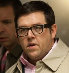 Nick Frost, still, movie The World's End