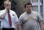 Nick Frost, still, movie, Shaun of the Dead, Simon Pegg
