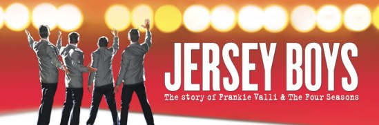 Jersey Boys, musical, movie, banner, Franki Valli, The Four Seasons