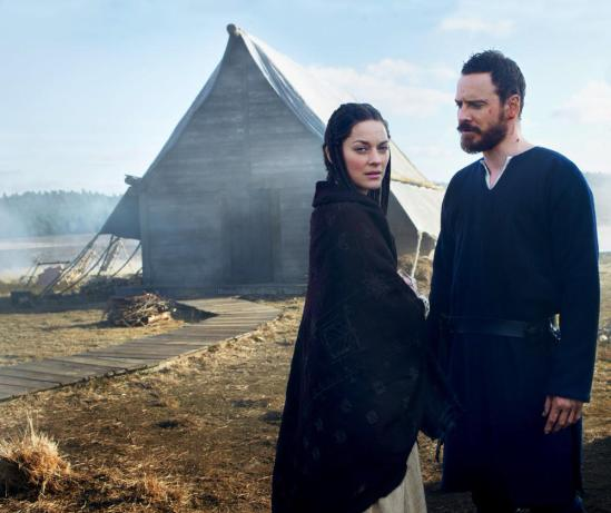 Macbeth, Scottish play, Shakespeare, movie, still, Marion Cotillard, Michael Fassbender
