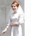 Tom Hardy, Legend, movie, on location, photo, Emily Browning