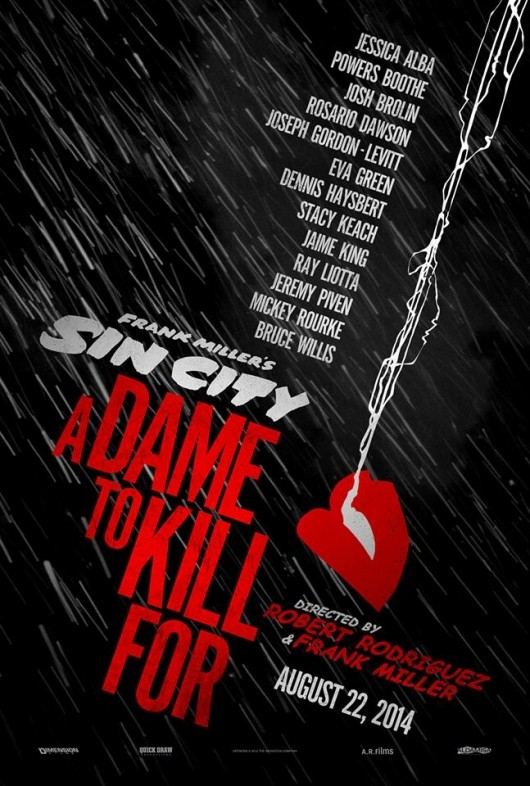 poster, Sin City: A Dame to Kill For, movie