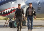Expendables 3, movie, still, Sylvester Stallone, Jason Statham, Arnold Schwarzenegger