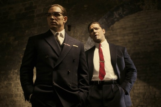 Tom Hardy, Reggie Kray, Ronnie Kray, Legend, movie, still