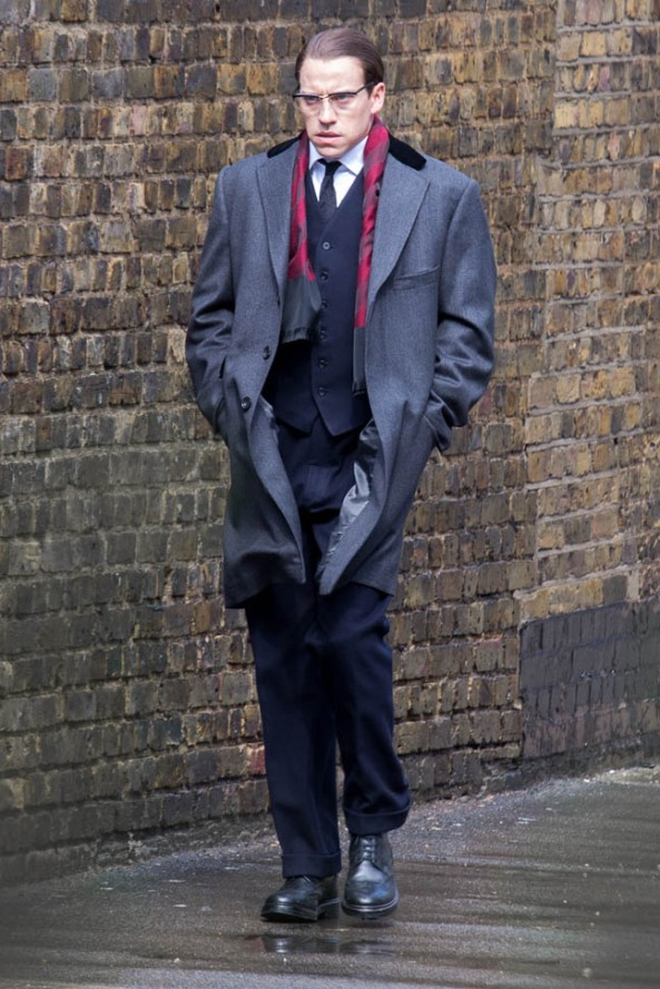 Tom Hardy, Legend, movie, on location, photo