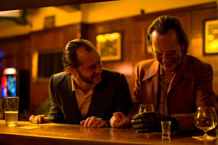 Dom Hemingway, Jude Law, movie, photo, Richard Shepard, Richard E. Grant