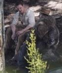 Michael Fassbender, Kodi Smit-McPhee, Ben Mendelsohn, Slow West, movie, western, photo