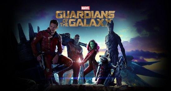 Marvel, movie,  poster, Chris Pratt, Bradley Cooper, Zoe Saldana, Vin Diesel, Dave Bautista,  Guardians of the Galaxy