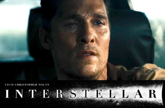 Interstellar, movie, poster, trailer, Matthew McConaughey, Christopher Nolan