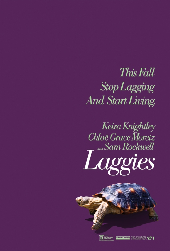 Laggies, Lynn Shelton, Keira Knightley, Sam Rockwell, Chloe Grace Moretz, movie, poster