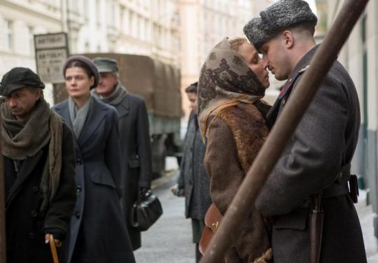 Noomi Rapace, Tom Hardy, Daniel Espinosa, movie, phto,  Child 44