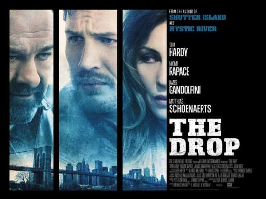 Movie, Poster, Michael Roskam, The Drop, Tom Hardy, James Gandolfini, Noomi Rapace