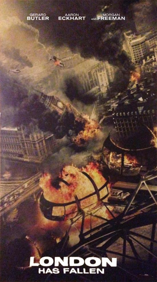 London Has Fallen, movie, poster, teaser, Gerard Butler