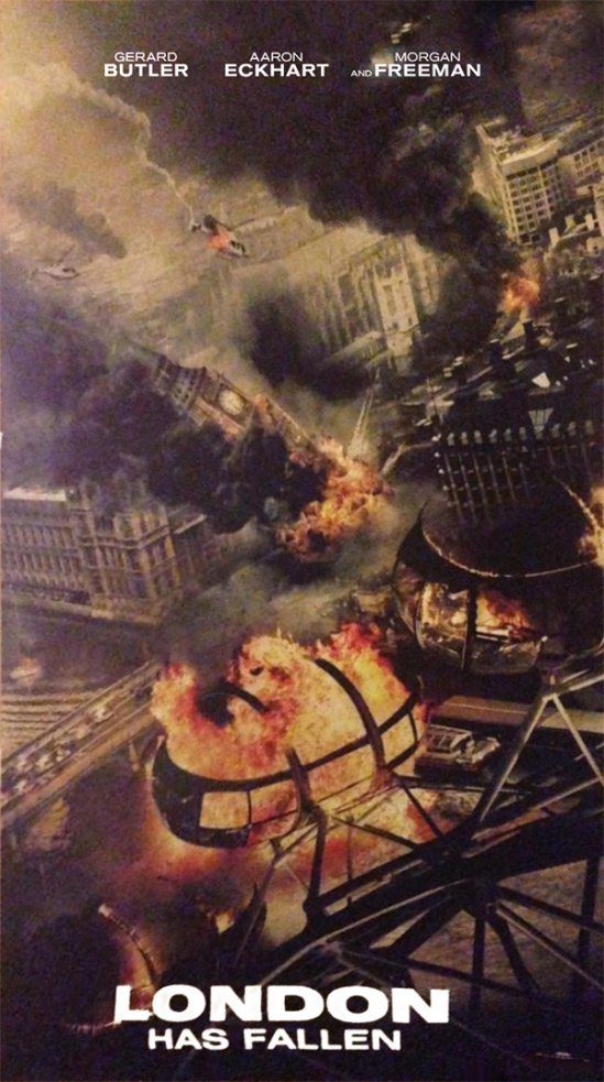 London Has Fallen, movie, poster, teaser, Gerard Butler