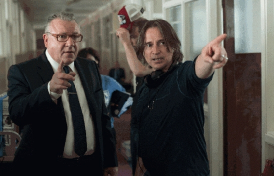 Ray Winstone, Robert Carlyle, The Legend of Barney Thomson, movie, photo