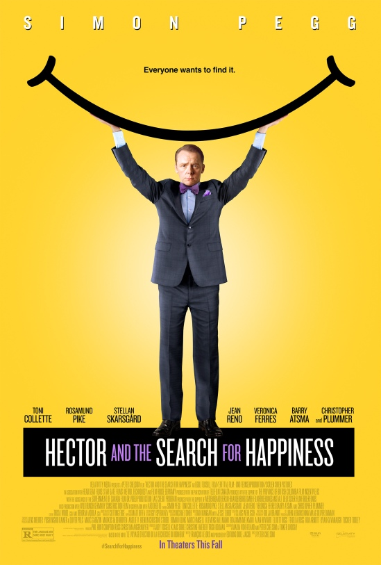 Hector and the Search for Happiness, Movie, Poster, Simon Pegg