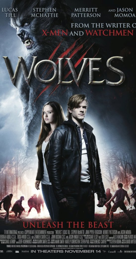 Wolves, movie, poster, Lucas Till, Jason Momoa, David Hayter