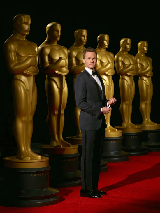 Oscars, nominations, Academy Awards, AMPAS, poster, Neil Patrick Harris