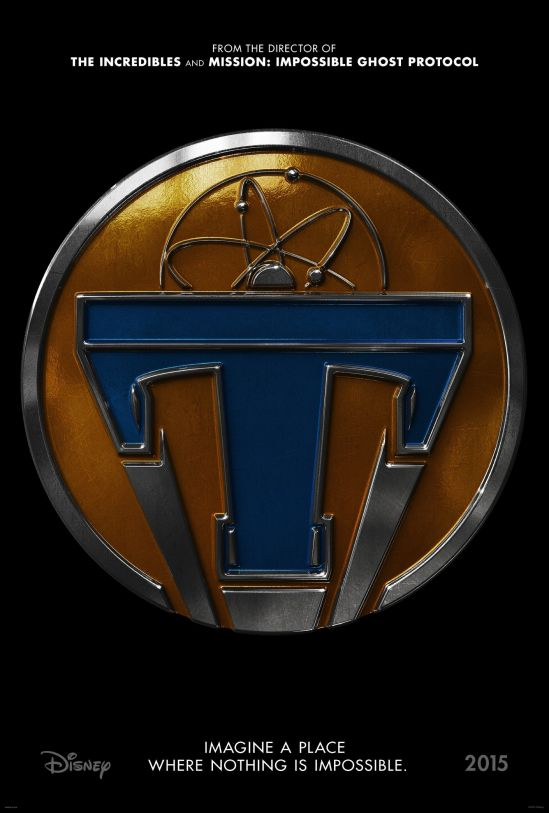 Tomorrowland, poster, Disney, George Clooney, Brad Bird, movie