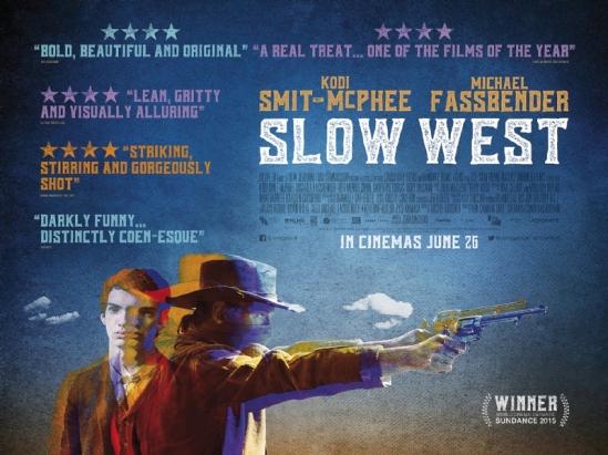 Slow West, movie, poster, trailer, Michael Fassbender, Kodi Smit-McPhee, Ben Mendelsohn, John Maclean