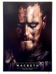 Macbeth, Michael Fassbender, movie, poster, Marion Cotillard, Justin Kurzel, Shakespeare, Scottish play